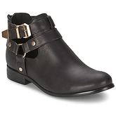 Moony Mood  BEZAH  women's Mid Boots in Black