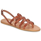 So Size  LINDA  women's Sandals in Brown