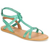 So Size  BEALO  women's Sandals in Blue