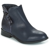 Moony Mood  GIAMILA  women's Mid Boots in Blue