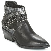 Airstep / A.S.98  SATUR  women's Low Ankle Boots in Black