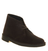 Clarks Originals Desert boots (w) BROWN SUEDE