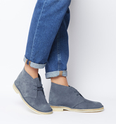 Clarks Originals Clarks Desert Boot DEEP BLUE SUEDE