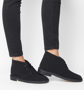 Clarks Originals Clarks Desert Boot BLACK SUEDE