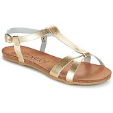Casual Attitude  IPLEM  women's Sandals in Gold