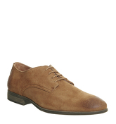 Ask the Missus Flutter Derby Shoe RUST SUEDE