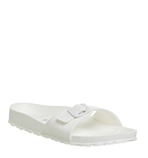 Birkenstock Madrid 1 Bar Mule WHITE NARROW