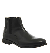 Ask the Missus Carter Side Zip Boot BLACK LEATHER