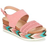 Bullboxer  BALORTOI  women's Sandals in Pink