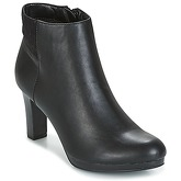 Moony Mood  GRANDY  women's Low Ankle Boots in Black