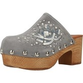 Alpe  3645 11  women's Clogs (Shoes) in Grey