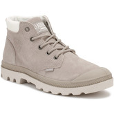 Palladium  Womens String Grey Pampa Low Cuff Boots  women's Mid Boots in Grey