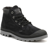 Palladium  Womens Black Pampa Low Cuff Boots  women's Mid Boots in Black