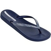 Ipanema  Mesh II Flip Flops in Navy   Silver 81927  women's Flip flops / Sandals (Shoes) in Blue