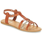 So Size  OBLATA  women's Sandals in Brown