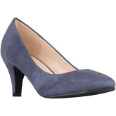 Krisp  Suedette Kitten Heel Courts  women's Court Shoes in Blue