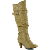 Milanelli  Boots LINA Khaki Woman Spring/Summer Collection  women's High Boots in Green