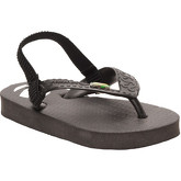Zonkepai   Sunshine  Flip-flops SOLEIL Black Kid Spring/Summer Collection  women's Flip flops / Sandals (Shoes) in Black