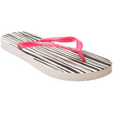 Zonkepai   Sunshine  Flip-flops RAYURE White / Green Woman Spring/Summer Collection  women's Flip flops / Sandals (Shoes) in White
