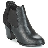 Moony Mood  JURDA  women's Low Ankle Boots in Black