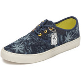 Reservoir Shoes  Printed low top sneakers 13M760 BENITA Navy blue Unisex Perm  women's Shoes (Trainers) in Blue