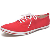 Reservoir Shoes  Solid low sneakers 09M1034 TINO Red Unisex Perm  women's Shoes (Trainers) in Red