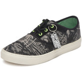 Reservoir Shoes  Printed low top sneakers 13M760 BENITA Black Unisex Perm  women's Shoes (Trainers) in Black