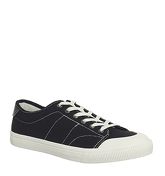 Office Hangout Sneaker BLACK CANVAS