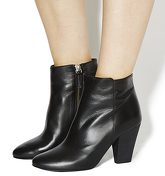 Office Flawless Ankle boots BLACK LEATHER