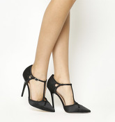 Office Hierarchy T Bar Point Court BLACK SATIN