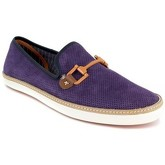 Peter Blade  Slipper  Violet Leather VALEZY  men's Slip-ons (Shoes) in Purple
