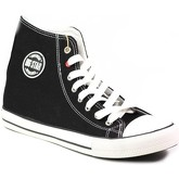 Big Star  T174107  men's Shoes (High-top Trainers) in Black