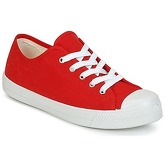 Yurban  DEOLIBO  men's Shoes (Trainers) in Red