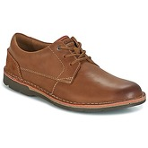 Clarks  EDGEWICK PLAIN  men's Casual Shoes in Brown