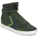 Hummel  SLIMMER STADIL DUO CANVAS HIGH  men's Shoes (High-top Trainers) in Green