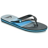 Quiksilver  MOLOHIGHLINSLAB M SNDL XKBS  men's Flip flops / Sandals (Shoes) in Black