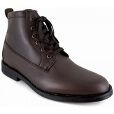 J.bradford  Low Boots  Brown Leather JB-APPLE  men's Mid Boots in Brown