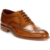 Loake  Fearnley Tan Brogues  men's Loafers / Casual Shoes in Brown