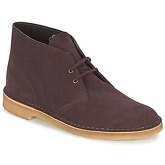 Clarks  DESERT BOOT  men's Low Ankle Boots in Red