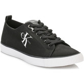 Calvin Klein Jeans  Mens Black Arnold Canvas Trainers  men's Shoes (Trainers) in Black