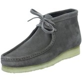Clarks  Wallabee  men's Low Ankle Boots in Blue