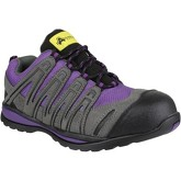 Amblers Safety  Fs108c  men's Shoes (Trainers) in Purple