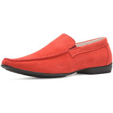 Reservoir Shoes  Loafers with round toe ROSHI Red Man Perm  men's Loafers / Casual Shoes in Red