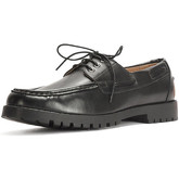 Reservoir Shoes  Boat shoe ERIC Black Man Perm  men's Loafers / Casual Shoes in Black