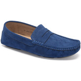 Reservoir Shoes  Moccasins suede look to put on M3075-U RAUL Navy blue Man Perm  men's Loafers / Casual Shoes in Blue