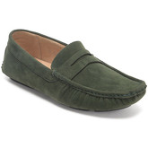 Reservoir Shoes  Moccasins suede look to put on M3075-H RAUL Khaki Man Perm  men's Loafers / Casual Shoes in Green