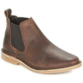 Jack   Jones  LEO LEATHER CHELSEA LTD  men's Mid Boots in Brown