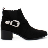 London Rag  Women's Pointed Toe Zipper Ankle Boots  women's Low Boots in Black