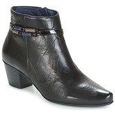Dorking  TRIANA  women's Low Ankle Boots in Black
