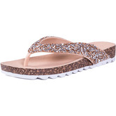 Spylovebuy  A  women's Sandals in Gold